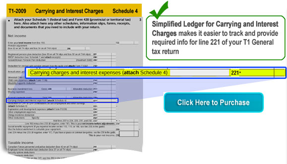 Carrying and Interest Charges